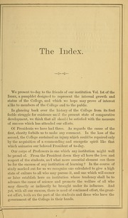 Page 7, 1869 Edition, University of Massachusetts Amherst - Index Yearbook (Amherst, MA) online yearbook collection