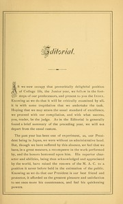 Page 11, 1879 Edition, University of Massachusetts Amherst - Index Yearbook (Amherst, MA) online yearbook collection