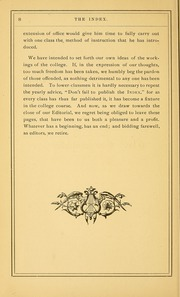 Page 14, 1879 Edition, University of Massachusetts Amherst - Index Yearbook (Amherst, MA) online yearbook collection