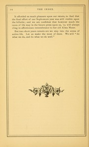 Page 20, 1879 Edition, University of Massachusetts Amherst - Index Yearbook (Amherst, MA) online yearbook collection