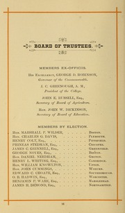 Page 26, 1886 Edition, University of Massachusetts Amherst - Index Yearbook (Amherst, MA) online yearbook collection