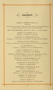 Page 28, 1886 Edition, University of Massachusetts Amherst - Index Yearbook (Amherst, MA) online yearbook collection