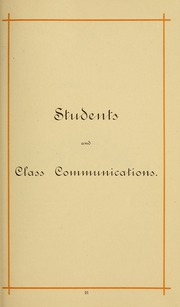 Page 31, 1886 Edition, University of Massachusetts Amherst - Index Yearbook (Amherst, MA) online yearbook collection