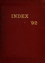 University of Massachusetts Amherst - Index Yearbook (Amherst, MA) online yearbook collection, 1892 Edition, Page 1
