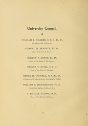 Page 24, 1899 Edition, University of Massachusetts Amherst - Index Yearbook (Amherst, MA) online yearbook collection