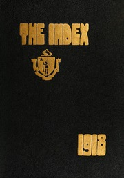 Page 1, 1918 Edition, University of Massachusetts Amherst - Index Yearbook (Amherst, MA) online yearbook collection