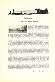 Page 11, 1919 Edition, University of Massachusetts Amherst - Index Yearbook (Amherst, MA) online yearbook collection