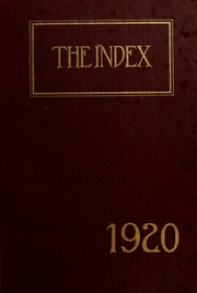 University of Massachusetts Amherst - Index Yearbook (Amherst, MA) online yearbook collection, 1920 Edition, Page 1