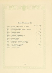 Page 181, 1921 Edition, University of Massachusetts Amherst - Index Yearbook (Amherst, MA) online yearbook collection