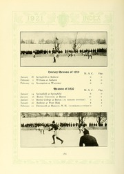 Page 184, 1921 Edition, University of Massachusetts Amherst - Index Yearbook (Amherst, MA) online yearbook collection