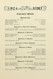 Page 15, 1924 Edition, University of Massachusetts Amherst - Index Yearbook (Amherst, MA) online yearbook collection