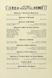 Page 16, 1924 Edition, University of Massachusetts Amherst - Index Yearbook (Amherst, MA) online yearbook collection