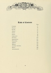 Page 16, 1930 Edition, University of Massachusetts Amherst - Index Yearbook (Amherst, MA) online yearbook collection