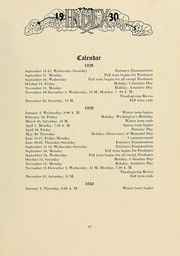 Page 17, 1930 Edition, University of Massachusetts Amherst - Index Yearbook (Amherst, MA) online yearbook collection