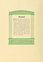 Page 10, 1931 Edition, University of Massachusetts Amherst - Index Yearbook (Amherst, MA) online yearbook collection