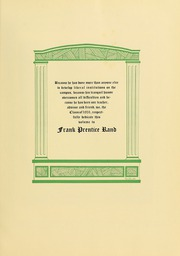 Page 11, 1931 Edition, University of Massachusetts Amherst - Index Yearbook (Amherst, MA) online yearbook collection