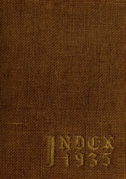 Page 1, 1935 Edition, University of Massachusetts Amherst - Index Yearbook (Amherst, MA) online yearbook collection