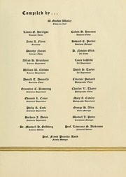 Page 9, 1935 Edition, University of Massachusetts Amherst - Index Yearbook (Amherst, MA) online yearbook collection