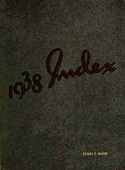 University of Massachusetts Amherst - Index Yearbook (Amherst, MA) online yearbook collection, 1938 Edition, Page 1