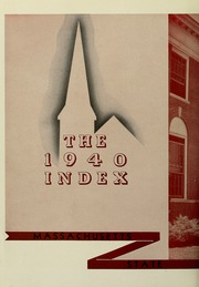 Page 8, 1940 Edition, University of Massachusetts Amherst - Index Yearbook (Amherst, MA) online yearbook collection
