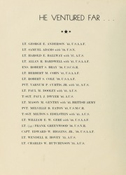 Page 10, 1945 Edition, University of Massachusetts Amherst - Index Yearbook (Amherst, MA) online yearbook collection