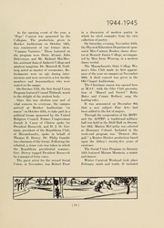 Page 15, 1945 Edition, University of Massachusetts Amherst - Index Yearbook (Amherst, MA) online yearbook collection