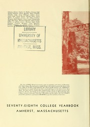 Page 6, 1947 Edition, University of Massachusetts Amherst - Index Yearbook (Amherst, MA) online yearbook collection