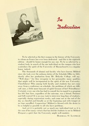 Page 8, 1949 Edition, University of Massachusetts Amherst - Index Yearbook (Amherst, MA) online yearbook collection