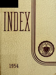 Page 1, 1954 Edition, University of Massachusetts Amherst - Index Yearbook (Amherst, MA) online yearbook collection