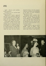 Page 12, 1954 Edition, University of Massachusetts Amherst - Index Yearbook (Amherst, MA) online yearbook collection