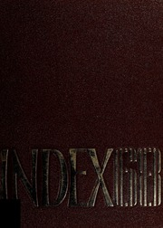 1968 Edition, University of Massachusetts Amherst - Index Yearbook (Amherst, MA)