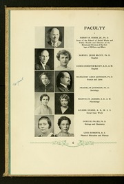 Page 10, 1936 Edition, Virginia Commonwealth University - Cobblestone Wigwam Yearbook (Richmond, VA) online yearbook collection