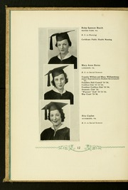 Page 16, 1936 Edition, Virginia Commonwealth University - Cobblestone Wigwam Yearbook (Richmond, VA) online yearbook collection