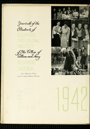 Page 6, 1942 Edition, Virginia Commonwealth University - Cobblestone Wigwam Yearbook (Richmond, VA) online yearbook collection
