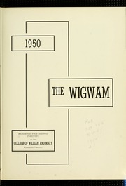 Page 7, 1950 Edition, Virginia Commonwealth University - Cobblestone Wigwam Yearbook (Richmond, VA) online yearbook collection