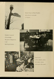 Page 10, 1957 Edition, Virginia Commonwealth University - Cobblestone Wigwam Yearbook (Richmond, VA) online yearbook collection