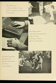 Page 13, 1957 Edition, Virginia Commonwealth University - Cobblestone Wigwam Yearbook (Richmond, VA) online yearbook collection