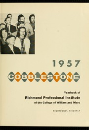 Page 7, 1957 Edition, Virginia Commonwealth University - Cobblestone Wigwam Yearbook (Richmond, VA) online yearbook collection