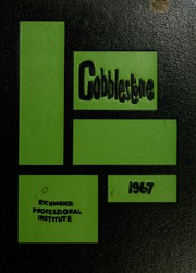 1967 Edition, Virginia Commonwealth University - Cobblestone Wigwam Yearbook (Richmond, VA)