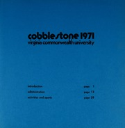 Page 3, 1971 Edition, Virginia Commonwealth University - Cobblestone Wigwam Yearbook (Richmond, VA) online yearbook collection