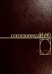 1980 Edition, Virginia Commonwealth University - Cobblestone Wigwam Yearbook (Richmond, VA)