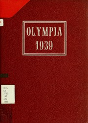 Page 1, 1939 Edition, Panzer College - Olympia Yearbook (East Orange, NJ) online yearbook collection