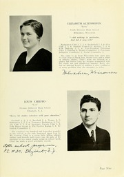 Page 13, 1939 Edition, Panzer College - Olympia Yearbook (East Orange, NJ) online yearbook collection