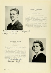 Page 14, 1939 Edition, Panzer College - Olympia Yearbook (East Orange, NJ) online yearbook collection