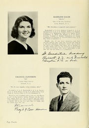 Page 16, 1939 Edition, Panzer College - Olympia Yearbook (East Orange, NJ) online yearbook collection