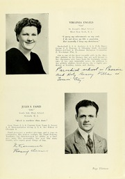 Page 17, 1939 Edition, Panzer College - Olympia Yearbook (East Orange, NJ) online yearbook collection