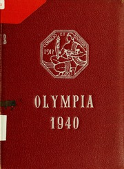 Page 1, 1940 Edition, Panzer College - Olympia Yearbook (East Orange, NJ) online yearbook collection
