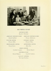 Page 11, 1940 Edition, Panzer College - Olympia Yearbook (East Orange, NJ) online yearbook collection