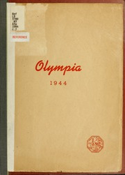 1944 Edition, Panzer College - Olympia Yearbook (East Orange, NJ)