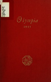 1945 Edition, Panzer College - Olympia Yearbook (East Orange, NJ)